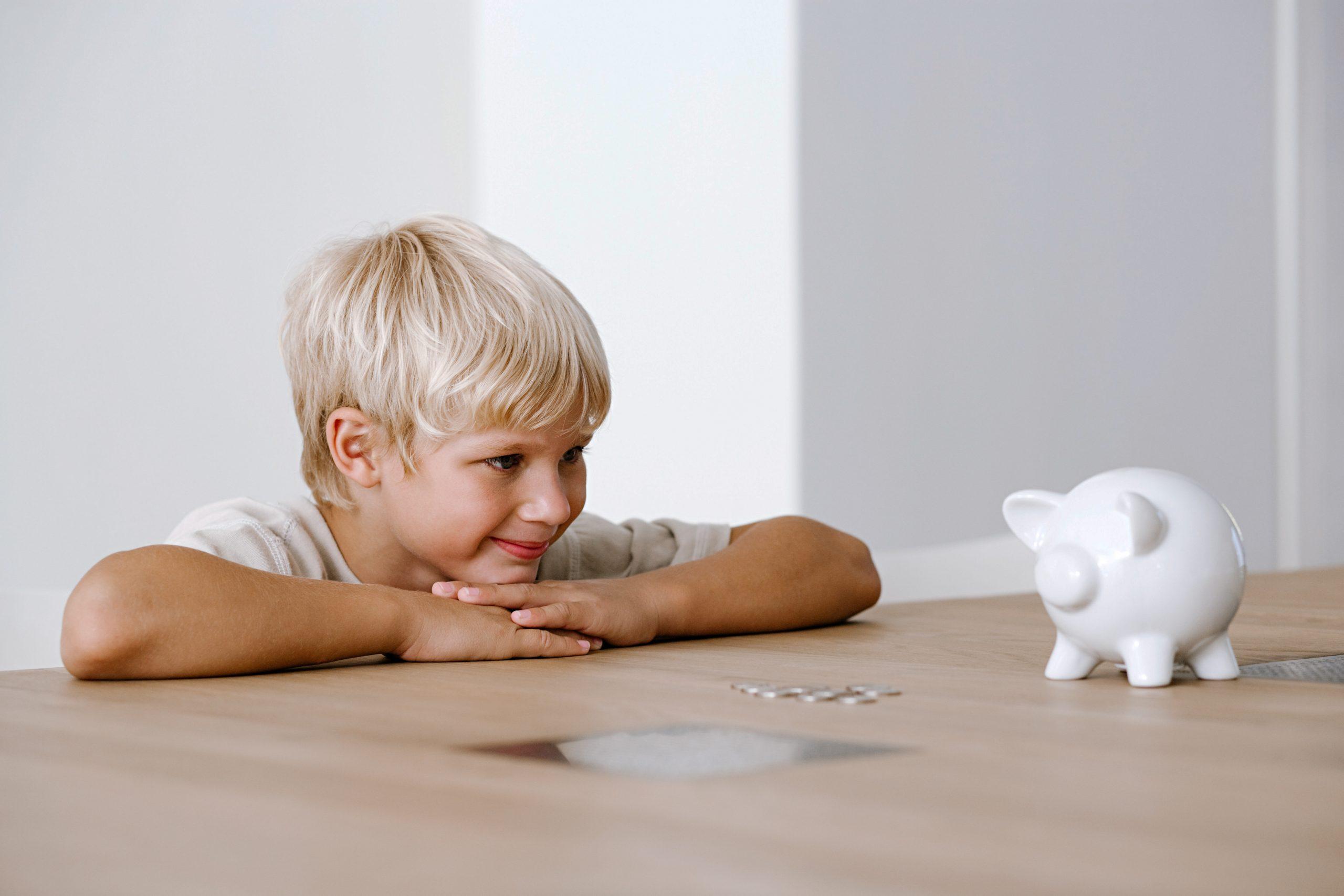 Sparziele erreichen für Kinder