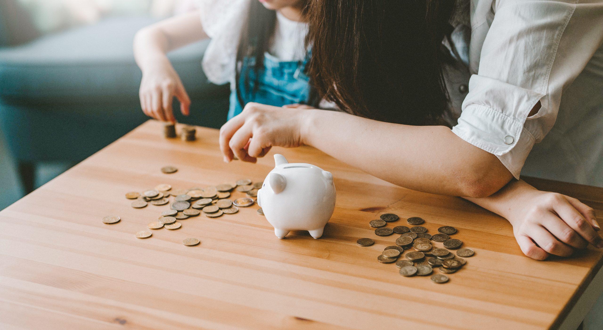 Geld sparen will gelernt sein